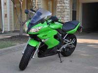 2009 Ninja 650 EX (Low miles, no lay down) Green
