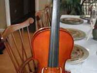 4/4 A. Schroetter Violin, Model #: AS-V060-4L4-0. 4 Yrs