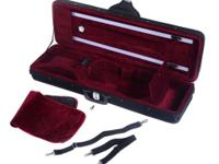 This is our brand new 4/4 enhanced violin case which is