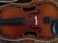 I have a beautiful, full size, German made violin for