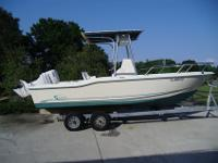 VERY CLEAN AND TIDY 1995 SCOUT 202 SPORT FISHING BOAT