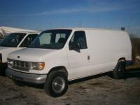 2000 Ford E250 Cargo Van, 4.2L gas engine - provides