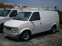 This is a 2001 GMC Safari Cargo Van. This van has been