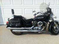 I have a 2006 1100 Yamaha V Star Silverado for sale.