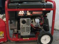 Hi I'm selling my DuroMax XP4400 4,400 Watt Generator.