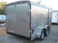 2008 Interstate manufacturer 7x14enclosed bike trailer