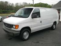 2003 Ford E-150 Cargo Van 4.2 Liter V6 Gasoline Engine