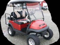 2007 Lifted Club Car Golf Cart, 23 in Tires! Sunburst