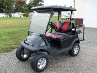 2007 Lifted Club Car Precedent, 4 Passenger with Rear