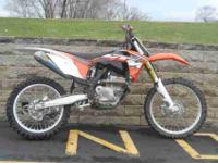 2012 KTM 250 SX-F, Orange, www.roadtrackandtrail.com we