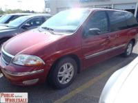 This 2003 Ford Windstar Wagon 4dr SE Van features a