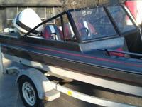 1988 Challenger Fish & Ski Boat, 17ft with 110hp
