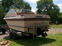 This is a 1978 Century Boat, 25 ft.. It is in good