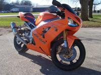 I Have for sale a 2004 Kawasaki Ninja Zx6r 636. Bike