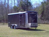 $4500.00 O.B.O.--(2005) 7' x 16' Haulmark inclosed