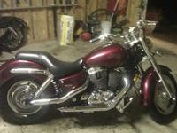 I have a 2007 Honda Shadow-Sabre 1100cc. The bike has