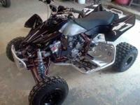 2007 suzuki ltr450r, completely rebuilt from frame up