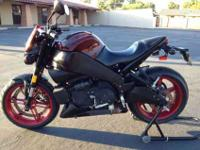 2009 Buell Lightning XB9SX. It has 11,500 actual miles