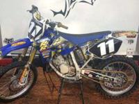For Sale - Yamaha YZ 125 , built in April 2012 with