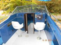 24ft RUNNING BOAT AND TRAILER FOR SALE. OMC Heavy Duty