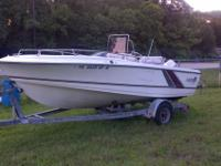 I HAVE A 88' LARSON BOAT ITS A CENTER CONSOLE 18'