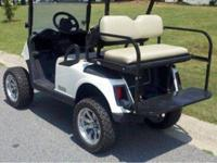 2008 EZGO RXV with 2012 Trojan batteries 48 volt