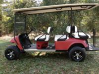 $4500 Limo golf cart ? new batteries ? head lights ?