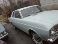 for sale is a 1968 ford falcon 2dr with a 3 spd manual