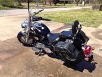 I'm selling a 2007 Suzuki C50 Boulevard with less than