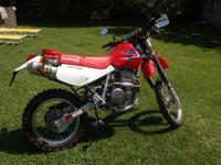 Dave's mods, FMF rejet, desmogged,Twin Air filter, FMF