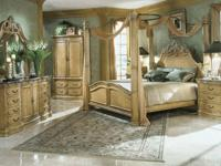 . The bedroom set features the La Francaise King Size