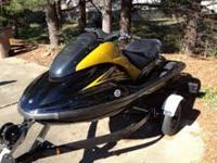 Great jet ski! 2006 Yamaha GP1300R for sale - trailer