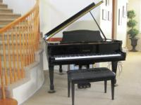 1999 Model SG-161 Samick baby grand piano for sale in