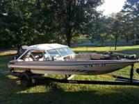 I have a 1985 Astroglass 17 1/2' Fish & Ski with a 1995