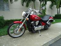 Summer Special , 2007 Kawasaki Vulcan 900 custom . This