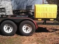 need to sale nice trailer new tires make great water