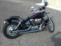 2007 Honda Shadow Spirit VT750 -Cobra pipes -Kuryakyn