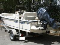 =This is a 2005 Key West 1720 Sportsman that has only
