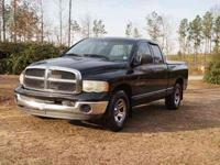 2002 Dodge Ram 1500 SLT Quad Cab, Electric windows,