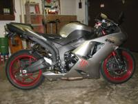 I have a 2008 Kawasaki Ninja zx6r for sale and asking