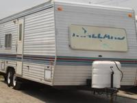 Just in is a 24' 1999 Mallard travel trailer. Perfect