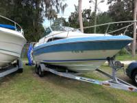 1988 Sea Ray Seville Mid Cabin Boat - 21ftSolid