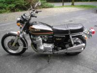 A very nice and clean CB750 survivor. Shows 3891 miles.