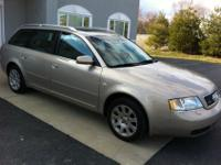 Experience this German engineered Audi 1999 A6, AWD