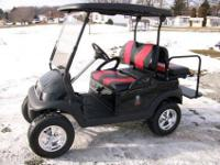 2009 Club Car Precedent Lifted Golf Cart, Kawasaki Gas