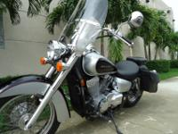 Summer Special , 2008 Honda Shadow 750 . This is a