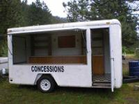 1997 U.S. CARGO custom made CONCESSION VENDING 14 FOOT