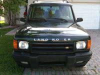 Up for sell is a 2000 Land Rover Discovery Series II in