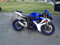 i have 2006 suzuki gsx 600 for sale the bike has 7,895