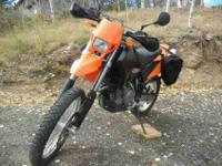 2005 KTM 635 SMC, Beautiful conversion to Dual Sport